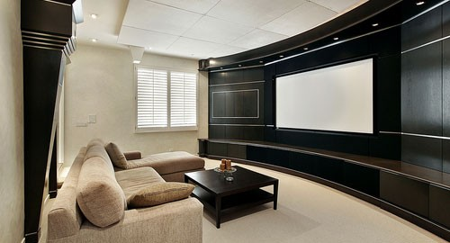 automated home theatre